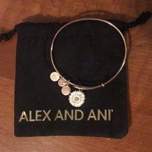 She's A Flower Alex And Ani Bracelet Rose Gold